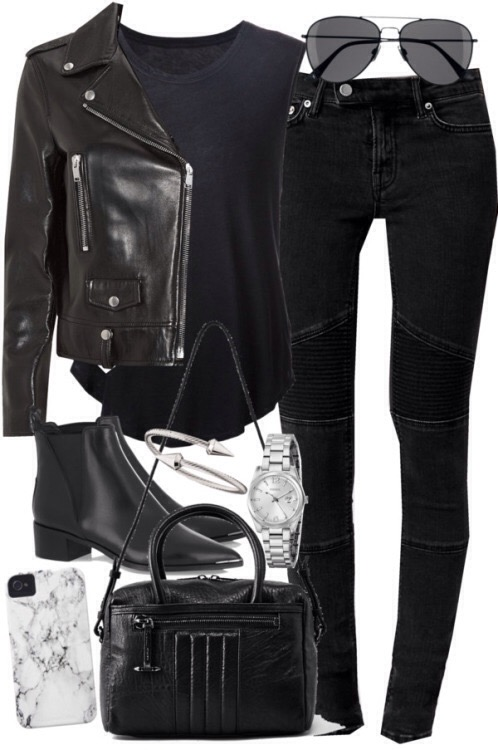 Leather And Pleather – StyleTV Looks